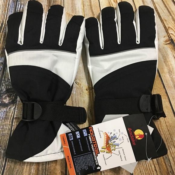 Men/'s Navy Warm! NWT Size XL Ski or Snow Gloves